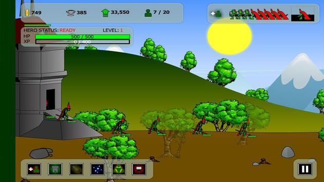 Clan Wars Goblin Forest apk screenshot