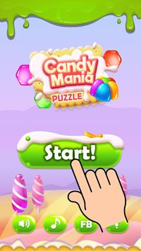 Candy Mania Puzzle poster