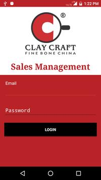 Clay Craft Sales Management poster