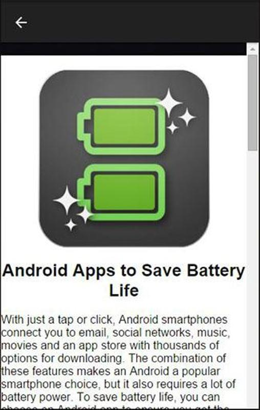 Clean Master Battery Saver APK Download