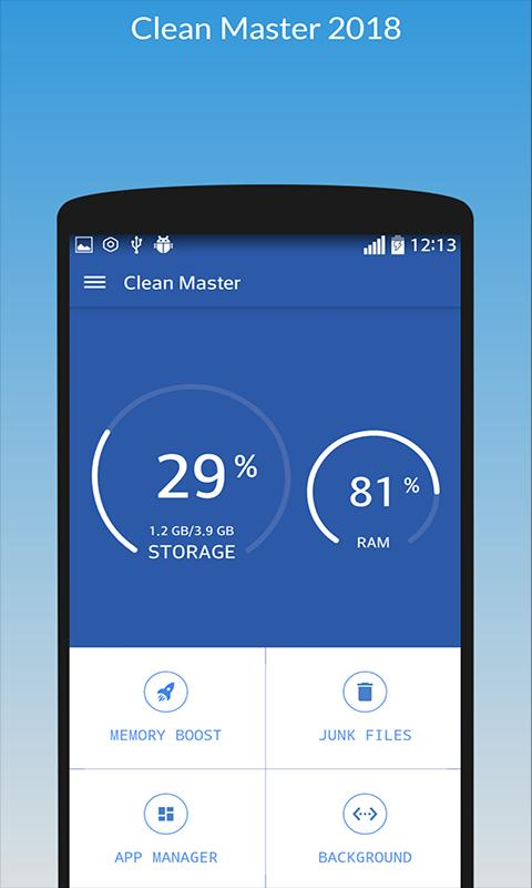 android clean master app