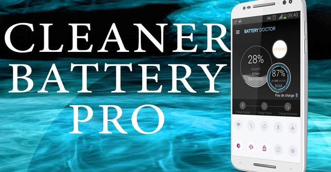 Cleaner Battery Doctor pro poster