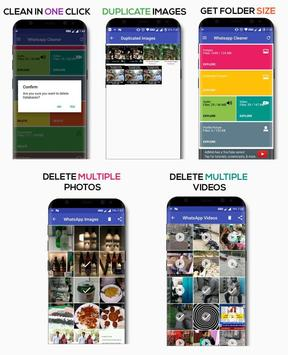 Pro Whatapp Cleaner to Clean your phone poster