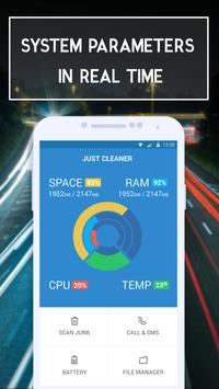 Just Cleaner Lite apk screenshot
