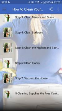 How to Clean Your House apk screenshot