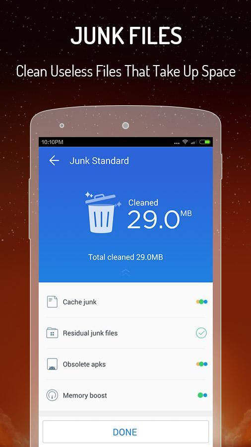 cm speed booster cache cleaner apk