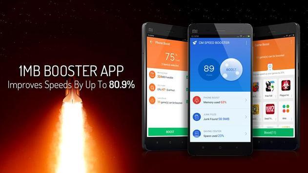 CM Speed Booster丨Cache Cleaner APK-screenhot