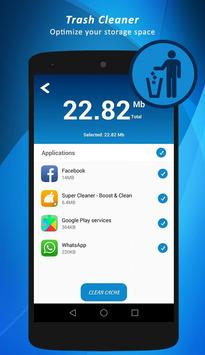 Phone cleaner and speed booster fast junk cleaner apk screenshot