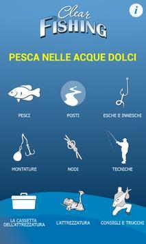 Pesca nelle acque dolci Lite poster