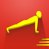 100 pushups: 0 to 100 push ups icon