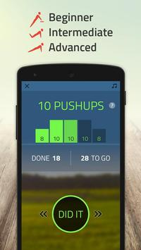 100 pushups: 0 to 100 push ups screenshot 1