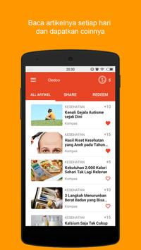 Free recharge from cledoo apk screenshot
