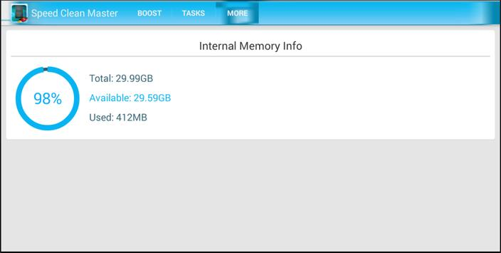 Speed RAM Clean Master apk screenshot