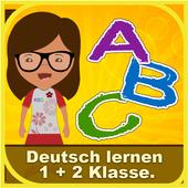 Learn German 1 - 2 class icon