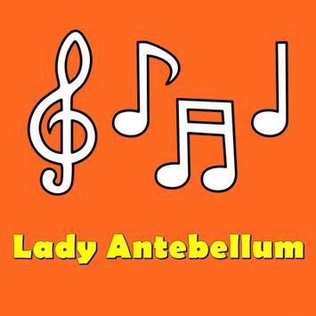 Hits Lady Antebellum lyrics poster