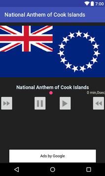 National Anthem of Cook Islands apk screenshot