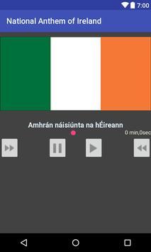 National Anthem of Ireland poster