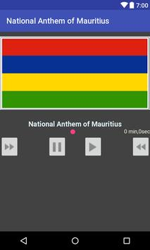 National Anthem of Mauritius poster