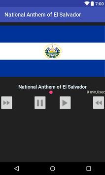National Anthem of El Salvador poster