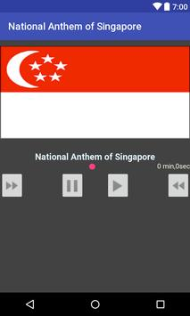 National Anthem of Singapore poster