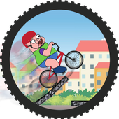 Clarence Bicycle Cartoon Game icon