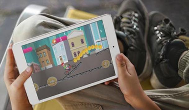 Clarence Bicycle Cartoon Game apk screenshot