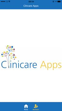 Clinicare Apps poster