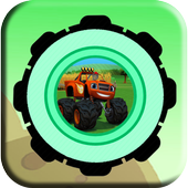 Blaze Monster Desert Adventure icon