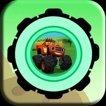 Blaze Monster Desert Adventure apk screenshot