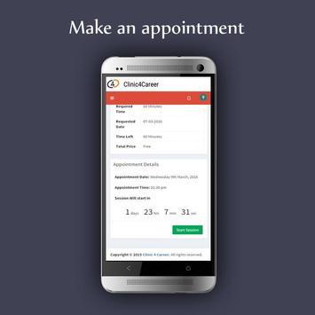 Clinic4Career screenshot 1