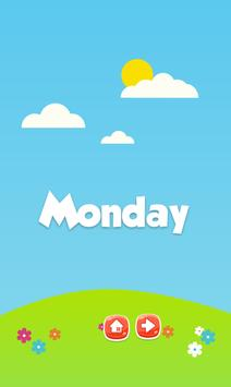 Learn days of week and months screenshot 1