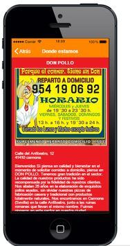 Don pollo Carmona apk screenshot