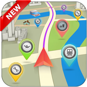 GPS Places Navigation(Live Street View) icon