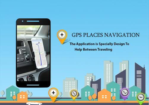 GPS Places Navigation(Live Street View) poster