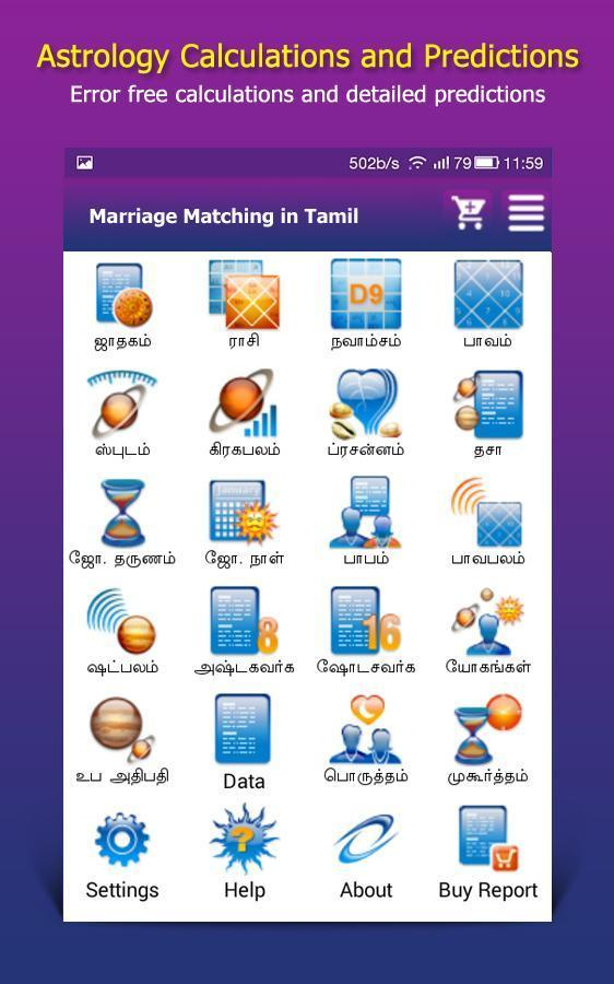 Marriage for in matching tamil name Marriage Matching