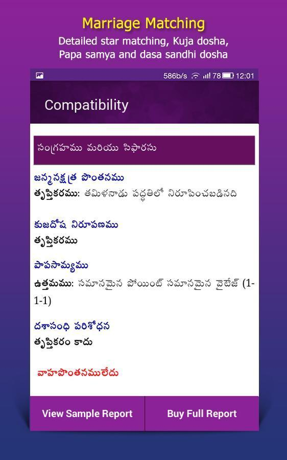 32 Marriage Match Astrology In Telugu - All About Astrology