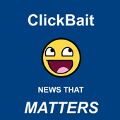 ClickBait - News that MATTERS icon