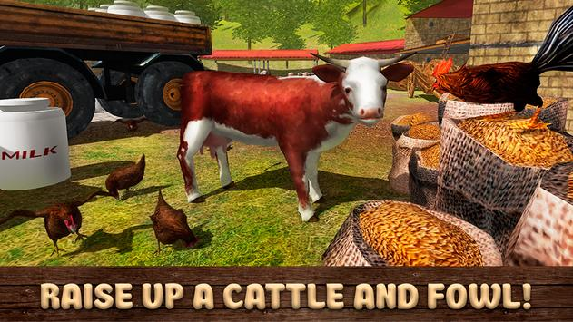 Country Farming Simulator 3D apk screenshot