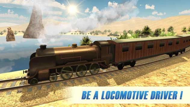 Western Train Driver Simulator poster