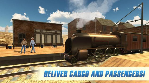 Western Train Driver Simulator apk screenshot