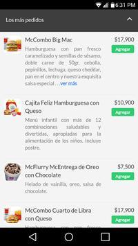McDonald's Domicilios Colombia apk screenshot