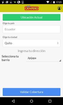 Pollo Campero Ecuador apk screenshot