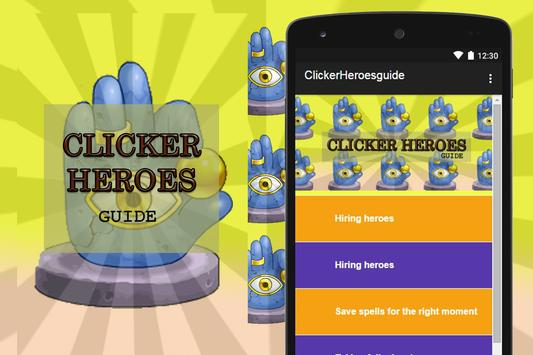 Guide for Clicker Heroes poster
