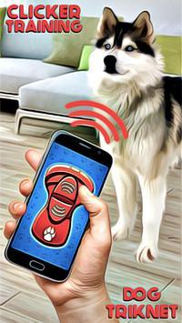 Clicker Training Dogs Trinket poster