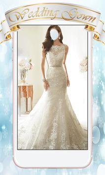 Wedding Gown Photo Montage poster