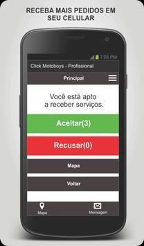 Click Motoboys - Profissional screenshot 1
