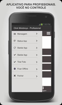 Click Motoboys - Profissional screenshot 2