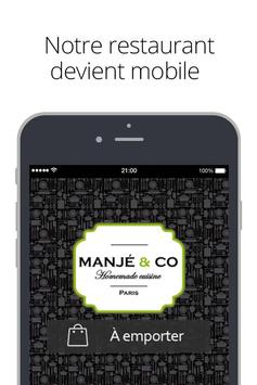 MANJÉ & CO poster