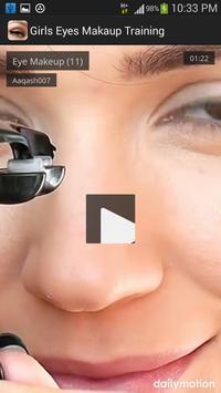 Girls Eyes Makeup Training screenshot 2
