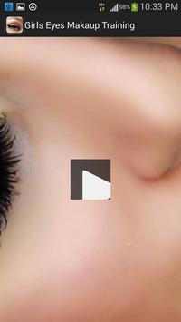 Girls Eyes Makeup Training screenshot 4